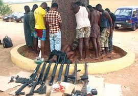 Image result for ROBBERY, KIDNAPPING KINGPINS IN TROUBLE in Nigeria