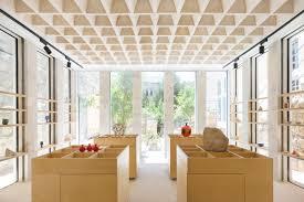 Ceiling Interior Design For Shop The Flat Stone Vault A Pioneering Interlocking Stone