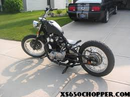 budget built bobber xs650 chopper