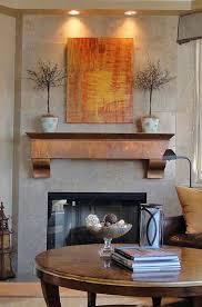 sopporo mantel in antique copper
