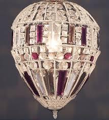 next palais plum nickel pendant lantern