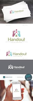 handout logo template logos foundation and templates handout logo template vector eps children foundation available here →