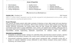 Senior Project Manager Sample Resumes Skills Resume Management