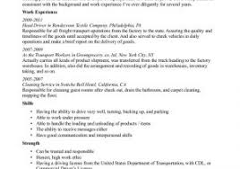 Cab Driver Resume Lovely Transform Sample Driver Resume Objective