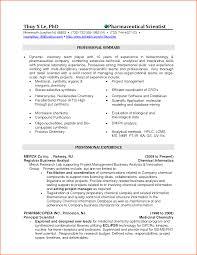 analytical chemist resume sample  vosvetenet