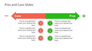 Pros Cons Slide Diagrams For Powerpoint
