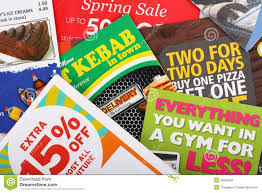 Sales Pamphlets Junk Mail Leaflets Editorial Image Image Of Membership