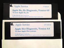 apple 2gs. apple iie, iic, \u0026 iigs service diagnostic diskettes / ii home computer 2gs
