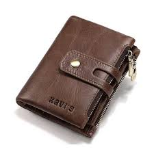 new stuff genuine leather coin purse male wallet
