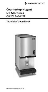 cnf countertop nugget ice machine