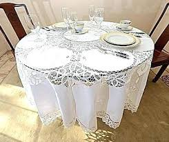 90 inch round white tablecloth inch round white tablecloth lace tablecloths round tablecloths round inches round