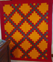 Lancaster County Irish Chain Quilt | Cindy Rennels Antique Quilts & full view Lancaster County, Pa. Double Irish Chain Quilt Adamdwight.com