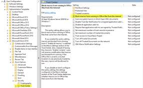 Powerpoint 2013 Template Location Block Macros From Running In Microsoft Office Using Group Policy