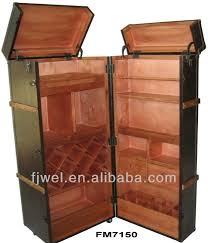 bar trunk furniture. pu leather wine cabinet trunk bar buy steamer barwine designantique product on alibabacom furniture