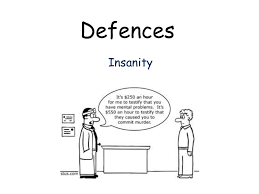 a law defences lecture on insanity