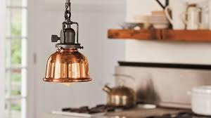 copper kitchen lighting.  kitchen copper kitchen lighting fixtures with yellow led bulbs across prestige  whistling kettle and white enamel cooking on