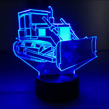 Led Lights All Colors Amazon Com Lifme Bulldozer Touch Table Lamp 7 Colors Soil