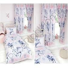 matalan bedding and matching curtains stardust unicorn duvet cover sets matching curtains single double junior new