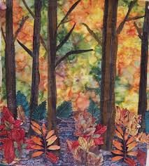 61 best tree trunks images on Pinterest | Paisajes, Quilt art and ... & Last week, the Cabot Quilt Guild had a two day 'Woodlands for the Landscape  Quilter' workshop with Nancy Bergman. Adamdwight.com
