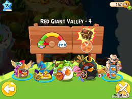 Angry Birds Epic Red Giant Valley Level 4