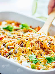 Low fat turkey casserole