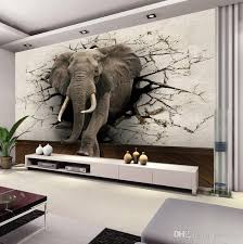 oversized wall art custom 3d elephant wall mural personalized giant photo wallpaper interior decoration mural animal world wallpaper kids room decor wall  on metal wall art decor 3d mural with wall art designs oversized wall art custom 3d elephant wall mural