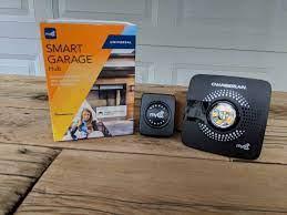 chamberlain myq smart garage hub review