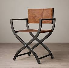 restoration hardware director chair interesting look with wood table and reclaimed floors