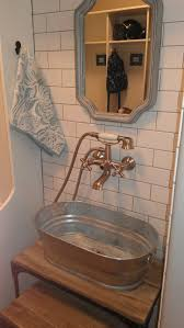 ... Large Size of Bathrooms Design:making Galvanized Tub Into Sink Ideas  Small Bathroom Sinks With ...