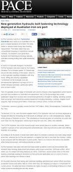 Magazine Articles » Technofast Industries