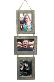rustic picture frames collages. Modren Rustic Rustic Barnwood 3 Opening Collage Frame Set 5X7 Three Frames On  Ribbon  2 For Picture Collages