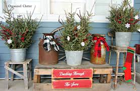 Rustic Christmas Decorations Outside Rustic Christmas Decorations Happy Holidays