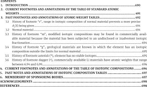 Review Of Footnotes And Annotations To The 19492013 Tables Of
