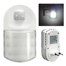 Sensor Night Light Plug In Infrared Led Sensor Night Light Eu Plug In Safety Save Energy Lamp 220v