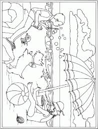 Small Picture Coloring Pages Funny Summer Coloring Page For Kids Seasons