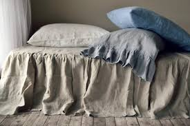 linen bedskirt king. Exellent King Image 0 To Linen Bedskirt King