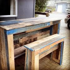 diy pallet patio bar. Outdoor Pallet Bar \u0026 Patio Furniture 101 Ideas Diy