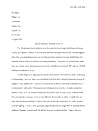 argumentative essays on school uniforms essay about my life research papers on environmental issues in behaviour 1490260185 23149 argumentative essays on school uniforms argumentative essays on school uniforms