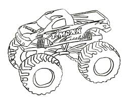 What kid isn't fascinated with monster trucks?! Free Printable Monster Truck Coloring Pages For Kids Monster Truck Coloring Pages Truck Coloring Pages Coloring Pages For Boys