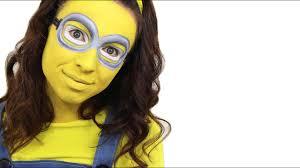 minion face paint tutorial deable me