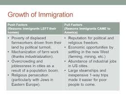 Immigration Urbanization And Machine Politics Mr Winchell