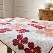 Laural Home Flowering Dogwood Blossoms Comforter | Applique quilts ... & Dogwood Blossoms: Springtime Applique Quilt Pattern Adamdwight.com