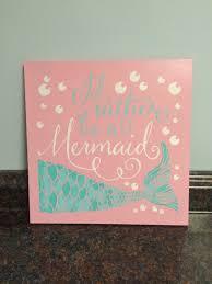 trendy design ideas mermaid wall decor nursery art zoom wood metal items baby