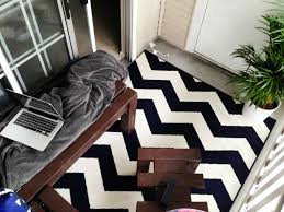 black and white outdoor rug chevron
