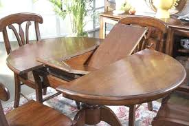 black round dining table with leaf dining room lovely make your dining table bigger choosing the