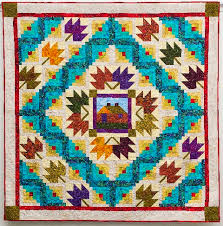 Free Pattern, MAPLE CABIN, Part 4 of 4 – AQS Blog & MAPLE CABIN Finished size: approximately. Designed and quilted by Linda  Hahn, Frog Hollow Designs, binding by Deb Stanley. Linda used Bedfordshire  fabrics ... Adamdwight.com
