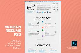 Modern Resume Color Creative Resume Template With Cover Letter 3 Color Versions