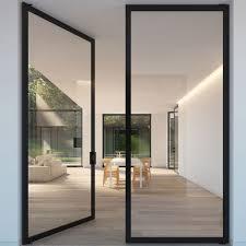 exterior glass door size 12 x 8 feet