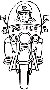 Police Coloring Pages For Kids With Lego Police Coloring Pages To