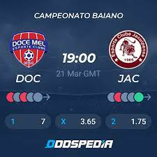 Atlanta Doce Mel EC - Jacuipense BA » Live Score & Stream + Odds, Stats,  News